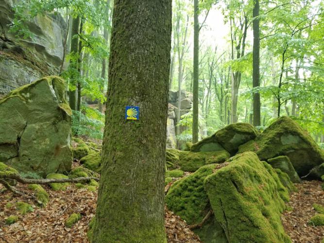 Retreat in Deutschland: Eine Wegmarke auf dem Jakobsweg