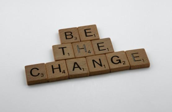 Be The Change: Der Wunsch nach Veränderung beschäftigt viele von uns.